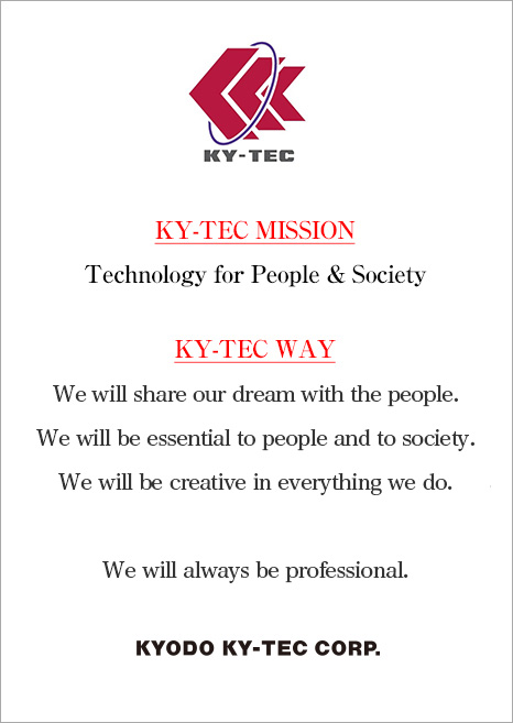 KY-Tec Mission & KY-Tec Way