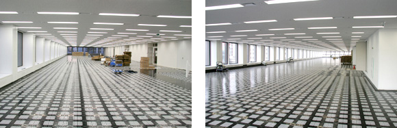 After Network Floor Installation