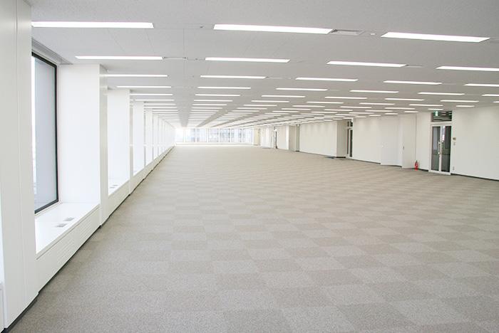 After Tile Carpet Installation