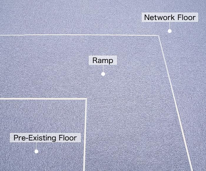 Long Ramp 40 Inside Corner (Gradient 1/12)